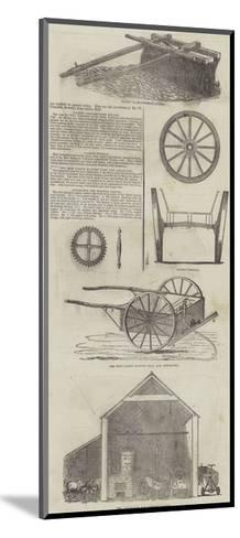 Agricultural Machinery--Mounted Giclee Print