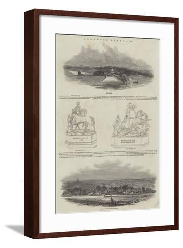 Goodwood Races, 1845--Framed Art Print