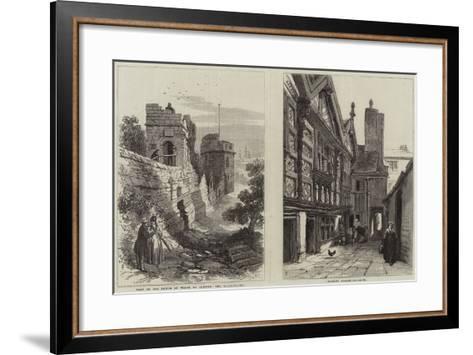 Royal Visit to Chester--Framed Art Print
