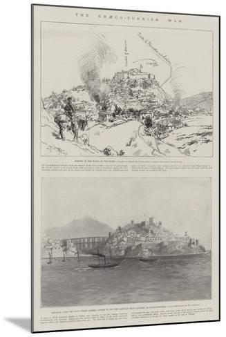 The Graeco-Turkish War--Mounted Giclee Print