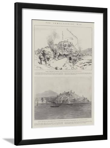 The Graeco-Turkish War--Framed Art Print