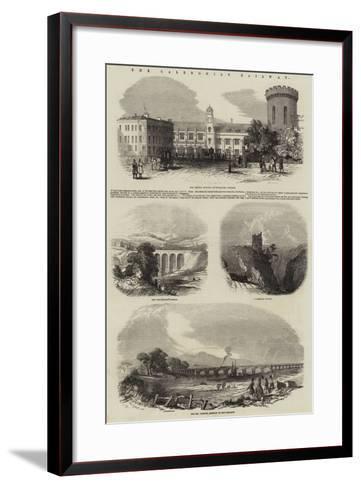 The Caledonian Railway--Framed Art Print
