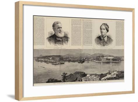 The Revolution in Brazil--Framed Art Print
