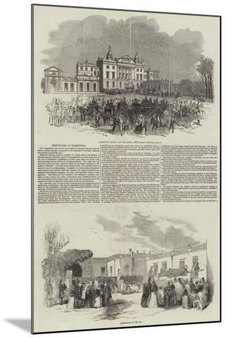 Festivities at Badminton--Mounted Giclee Print