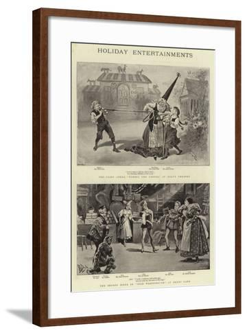 Holiday Entertainments--Framed Art Print