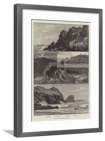 Sketches at the Lizard--Framed Art Print