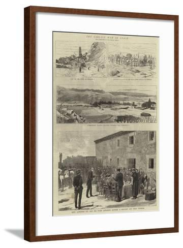 The Carlist War in Spain--Framed Art Print