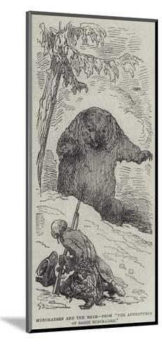 Munchausen and the Bear--Mounted Giclee Print