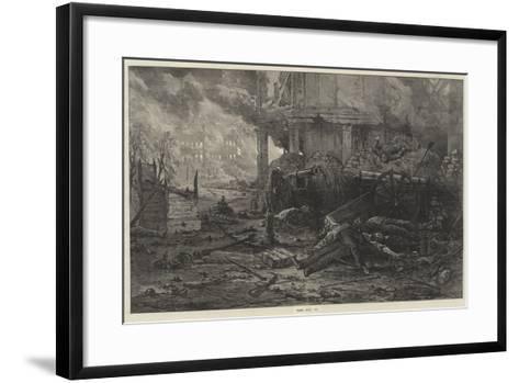 Paris, May, 1871--Framed Art Print