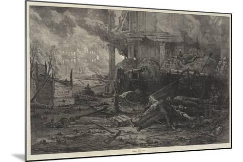 Paris, May, 1871--Mounted Giclee Print