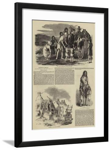 Condition of Ireland--Framed Art Print