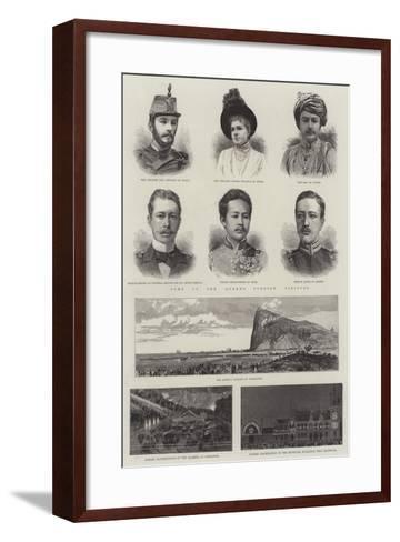 The Queen's Jubilee--Framed Art Print