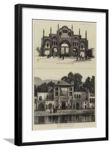 Persia Illustrated--Framed Art Print
