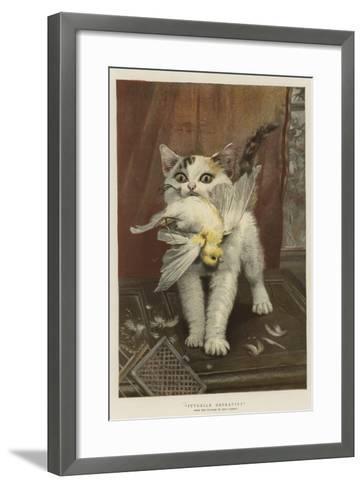 Juvenile Depravity--Framed Art Print