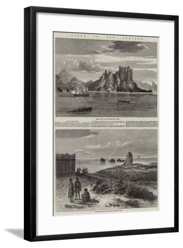 Views in New Zealand--Framed Art Print