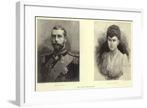 The Royal Betrothal--Framed Art Print