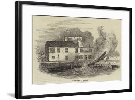 Whirlwind at Exeter--Framed Art Print