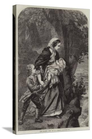 The Soldier's Wife--Stretched Canvas Print