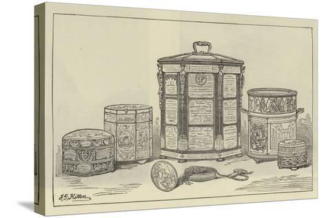 A Parish Tobacco Box--Stretched Canvas Print