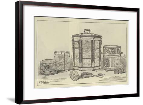 A Parish Tobacco Box--Framed Art Print