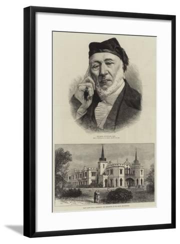 Sir Moses Montefiore--Framed Art Print