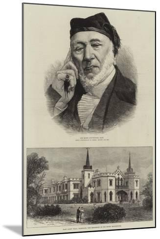 Sir Moses Montefiore--Mounted Giclee Print