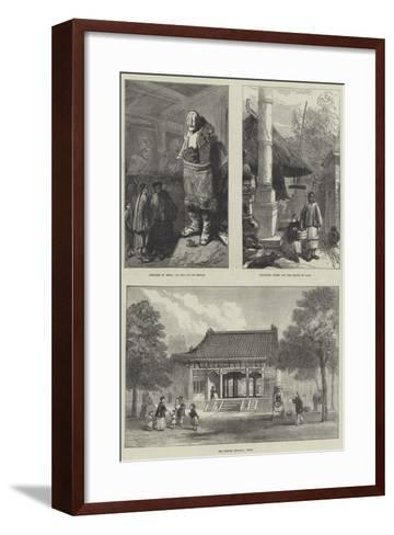 Sketches in China--Framed Art Print