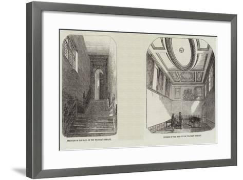 The Weaver's Company--Framed Art Print