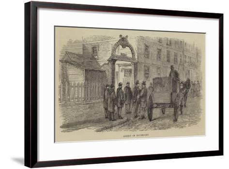 Arrest of Rochefort--Framed Art Print