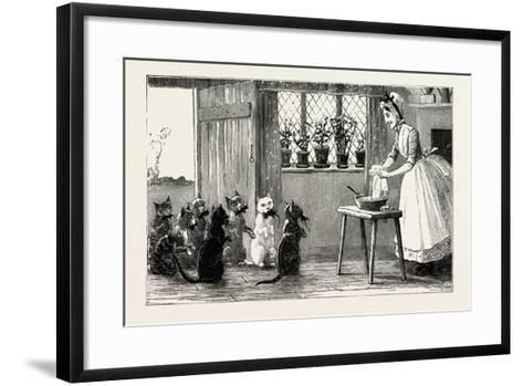 Cats and Mice, 1890--Framed Art Print