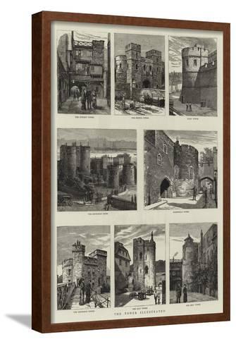 The Tower of London--Framed Art Print