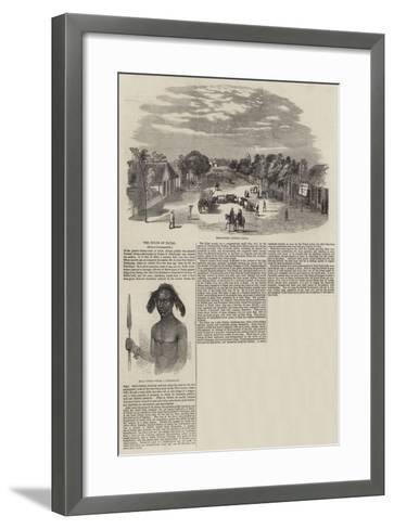 The Zulus of Natal--Framed Art Print