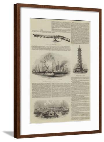 Sketches of China--Framed Art Print