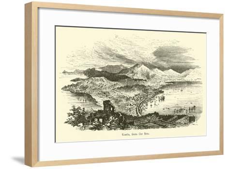 Gaeta, from the Sea--Framed Art Print