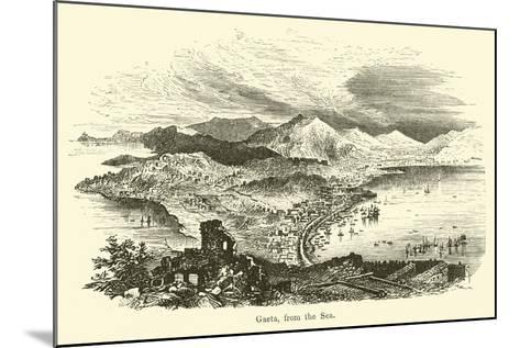 Gaeta, from the Sea--Mounted Giclee Print