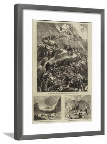 The Yarkund Mission--Framed Art Print