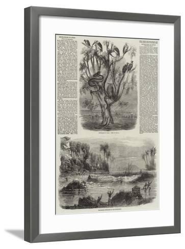Inundation in India--Framed Art Print