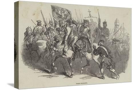 Polish Insurgents--Stretched Canvas Print