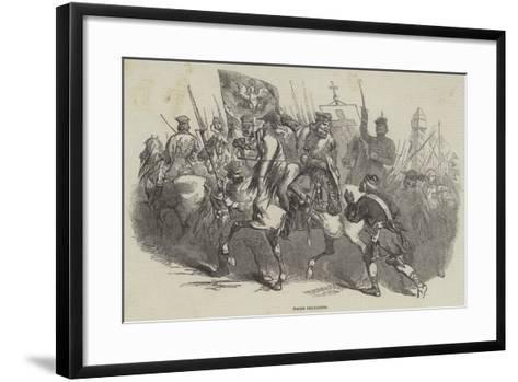 Polish Insurgents--Framed Art Print