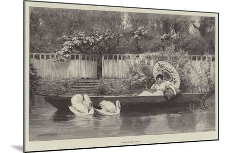 Sweet Summer Days--Mounted Giclee Print