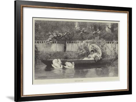 Sweet Summer Days--Framed Art Print