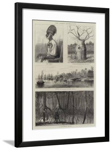 The Congo Expedition--Framed Art Print