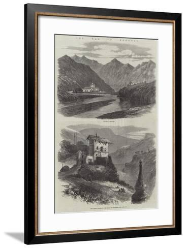 The War in Bhootan--Framed Art Print