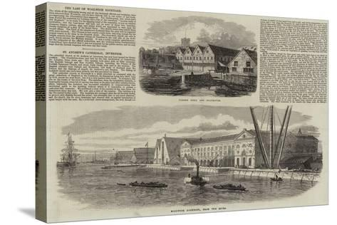 Woolwich Dockyard--Stretched Canvas Print