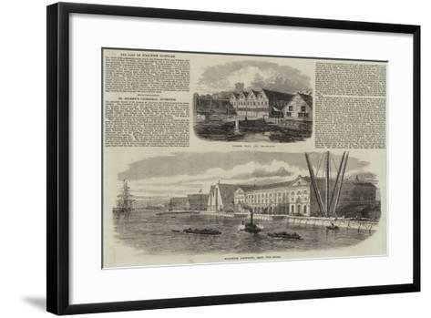 Woolwich Dockyard--Framed Art Print
