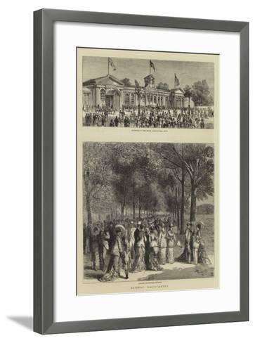 Bristol Illustrated--Framed Art Print