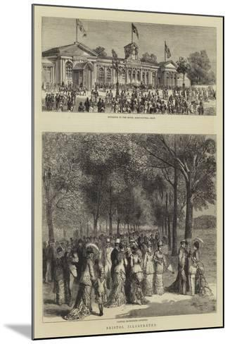 Bristol Illustrated--Mounted Giclee Print