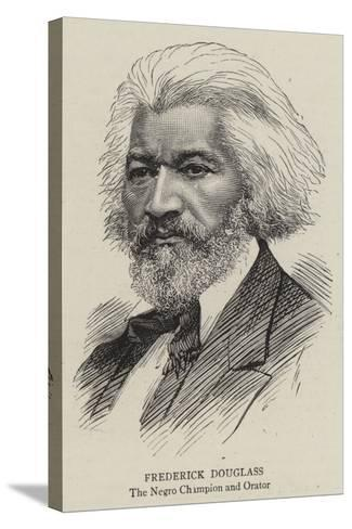 Frederick Douglass--Stretched Canvas Print