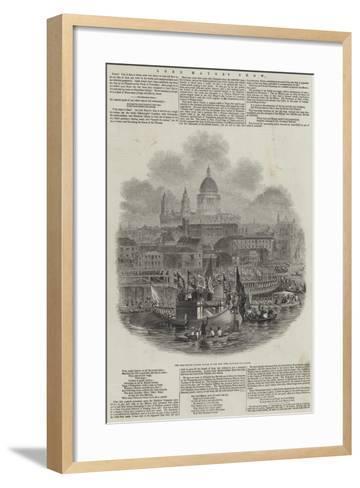 Lord Mayor's Show--Framed Art Print