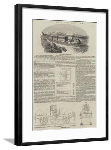 Parsey's Air-Engine--Framed Art Print